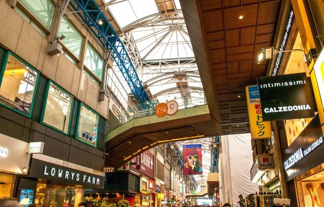 地震が起きた時!商店街・アーケード街にいました!地震時、商店街・アーケード街での正しい行動は?
